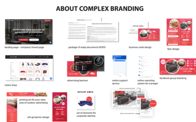 A little bit about local branding development